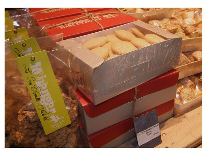 Mood board Design gourmet : déclinaison à l'ensemble des biscuits par parfum