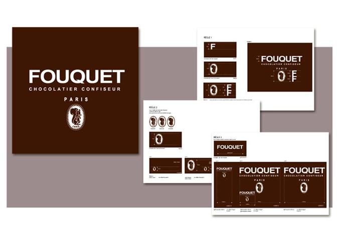 Mood board Design gourmet : Création de la charte graphique de la marque Fouquet